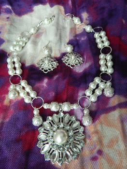 Elegance Done in Pearl-Necklace