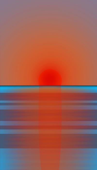 Simple Sunset by Tallfox15