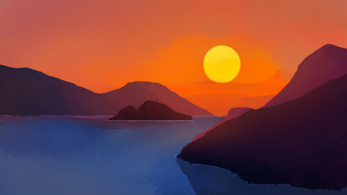 Sunset1 by Tallfox15