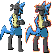 Lucario - Wrath by Quanyails