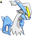 Kyurem White Forme Headshot by Quanyails