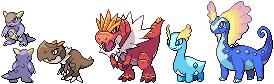 Pokemon Amaura Sprite Images | Pokemon Images
