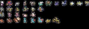 Create-a-Pokemon Sprite Icons