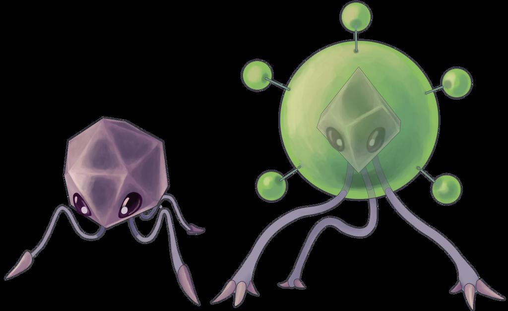 Pathogem and Mega Pathogem by Quanyails