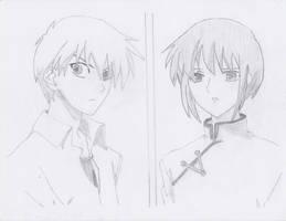 Kyo and Yuki by Kitty6773