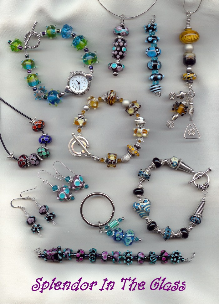 SITG Lampwork Jewelry by tiannei
