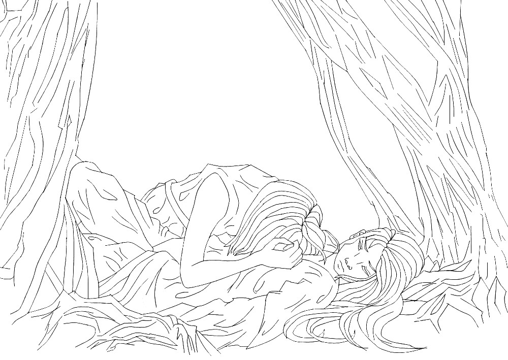 Line Art Photo Cs : Aztira and leon line art by inlovewithyaoi on deviantart