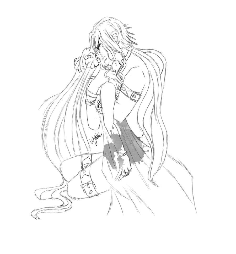 Let me die with her: Seiya/Usagi