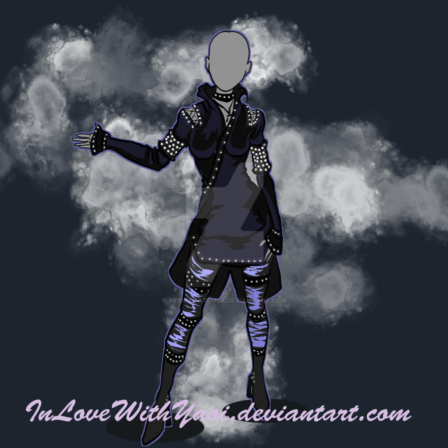 Outfit Auction Adopt OPEN 03 by InLoveWithYaoi