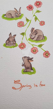 BUNNY painting for sale (PayPal)