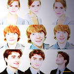 Hermione, ron and harry