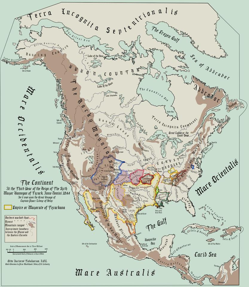 A Map For Leibowitz by BolshieKiwi on DeviantArt