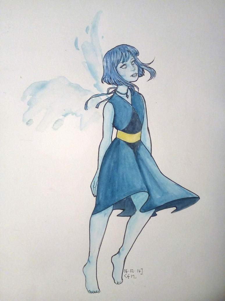 hi i'm not dead yet so have a random Lapis from Steven Universe art © Buraschi