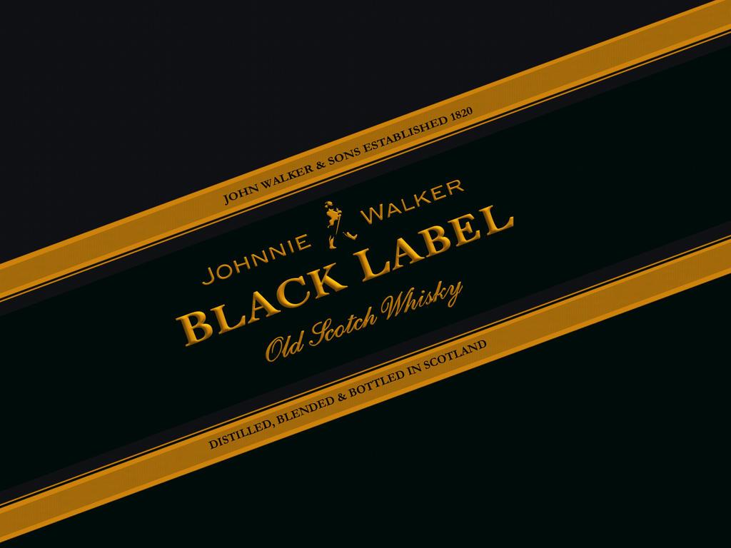 ..black label