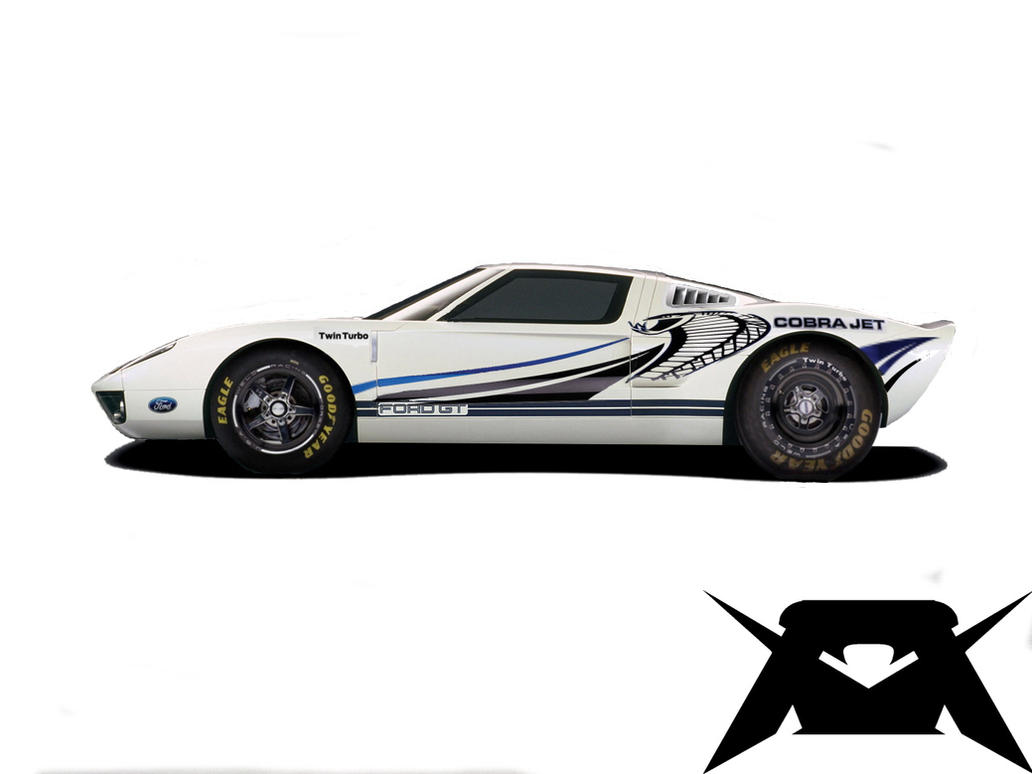Ford Gt Cobra Jet By Simonk