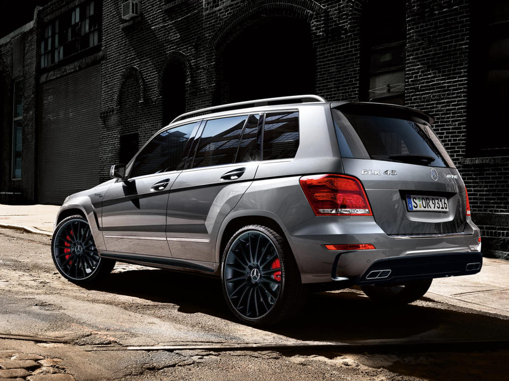 Mercedes glk 45 amg by simonk98 on deviantart for Mercedes benz glk350 amg