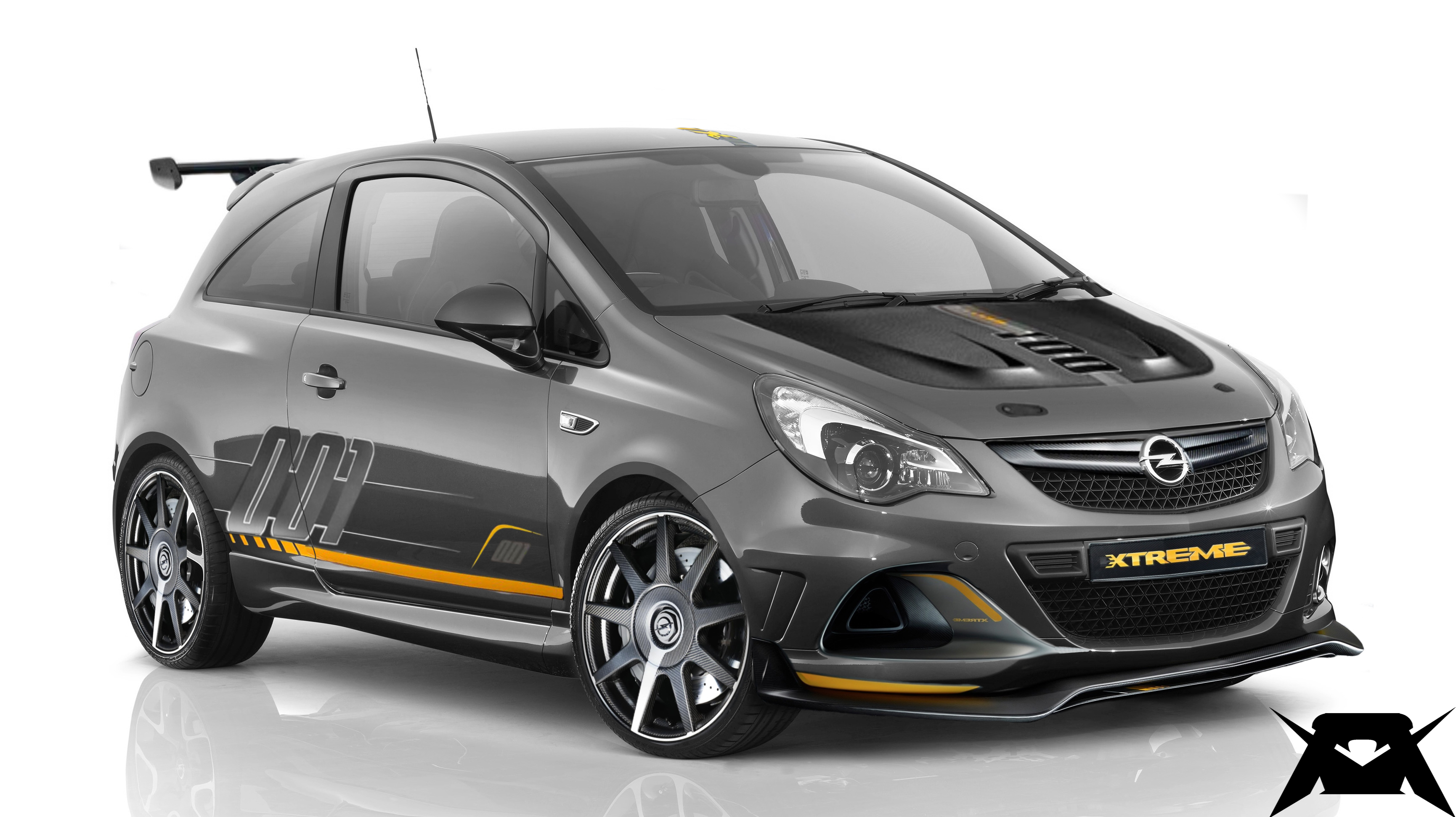 opel corsa opc extreme by simonk98 on deviantart. Black Bedroom Furniture Sets. Home Design Ideas
