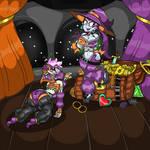 Risky's Slave (Halloween version) - Zombietwink62 by IncredibleIntruder