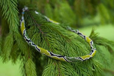 Grass snake by Vigonett