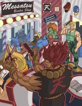 Street Fighter - Barber Shop