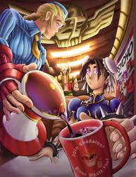 Street Fighter - Psycho Coffee