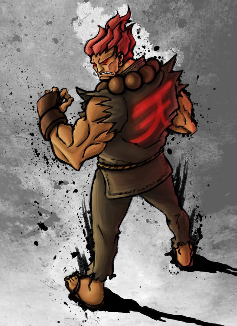 Akuma - Street Fighter 4 Style