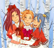 Secret Santa - Maho Megumi by Kerl-hau