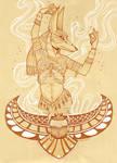 Anubis . Gates of Babylon