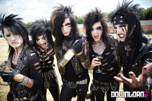 black veil brides by cosplay-time
