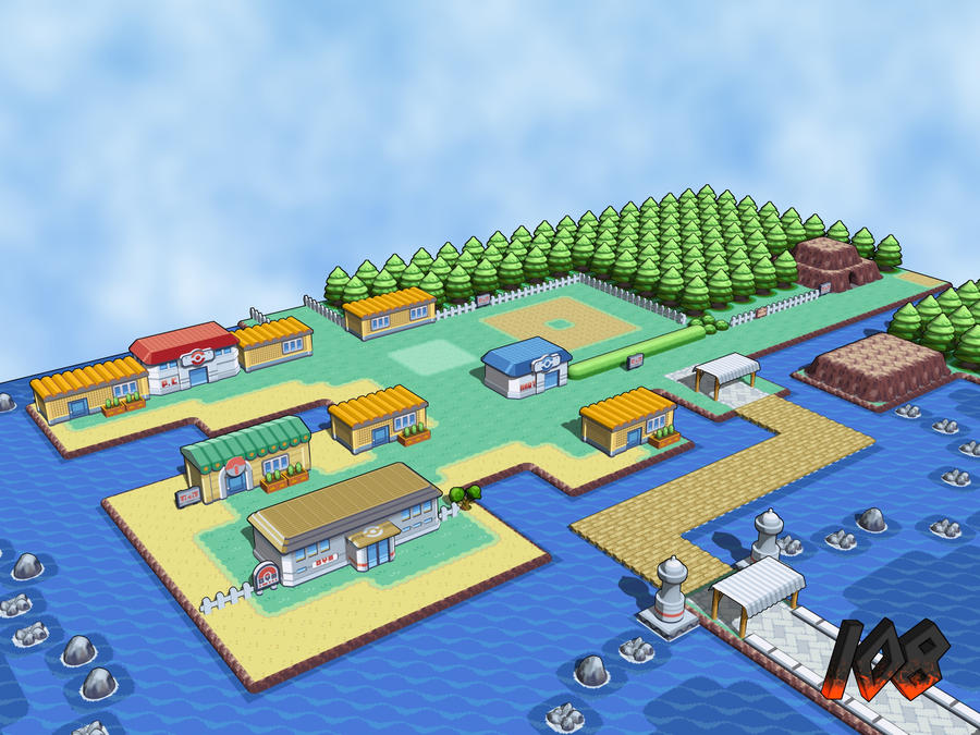 Vermillion City 3d View 1 By Drew108 On Deviantart
