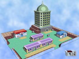 Lavender Town 3D by Drew108