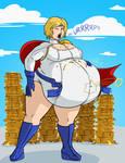 Stuffed Power Girl