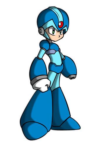 Megaman  chibi by Perocho