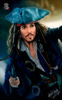 Captain Jack Sparrow by jaquesmorgan