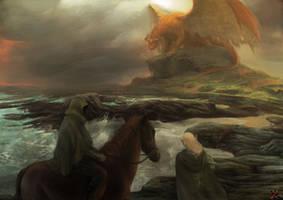 Shores of Drenim by Zlatolin