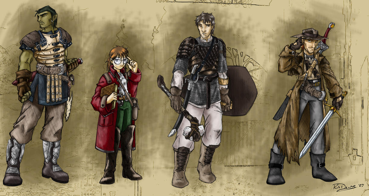 Current DnD group by RobD2003 on DeviantArt