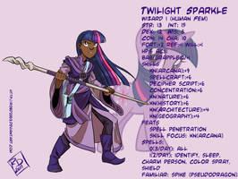 PnD: Twilight Sparkle by RobD2003
