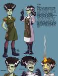 Character sheet: Elsa