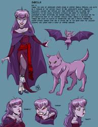Character sheet: Sibella by RobD2003