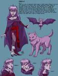 Character sheet: Sibella