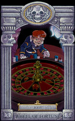 Ghoul School Tarot: Wheel of Fortune by RobD2003