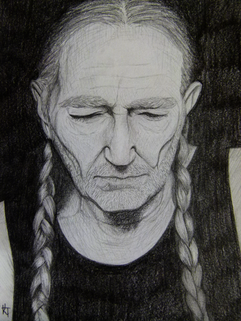 Willie Nelson by Smoogallooga