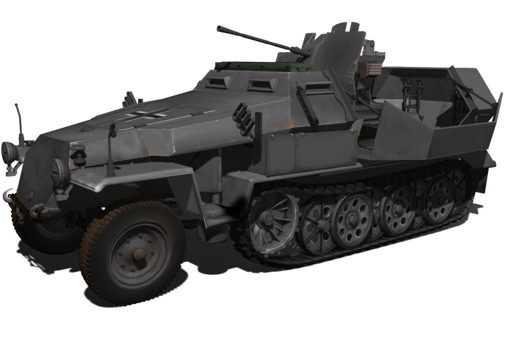 Sdkfz 251-17 C more textures