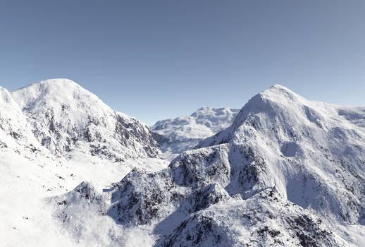Terragen Mountains