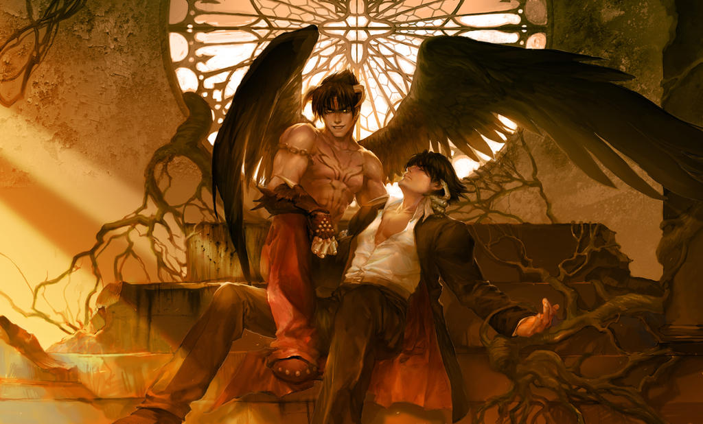 Devil Jin by ultramarineandwhite