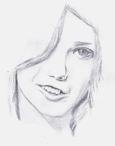 Cassie Portrait by KeiKeiAi