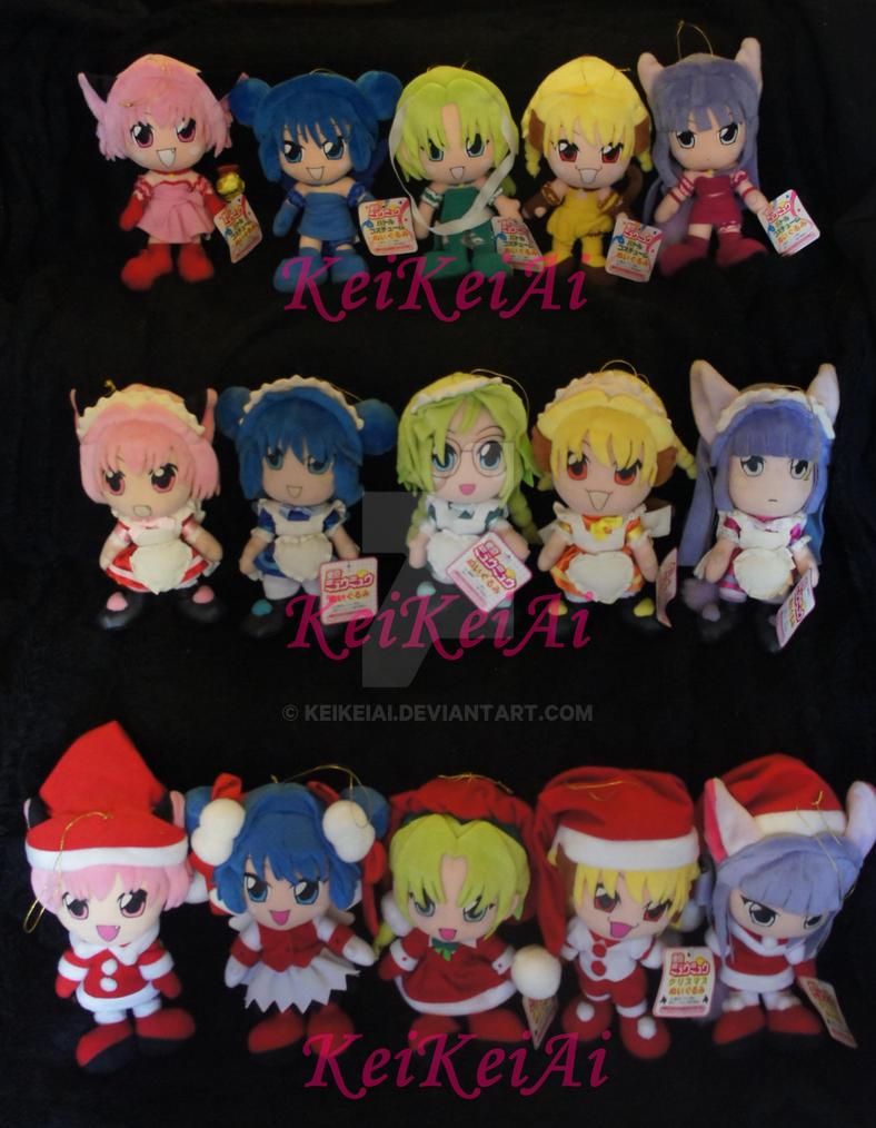 Complete Tokyo Mew Mew Plush Collection~ by KeiKeiAi