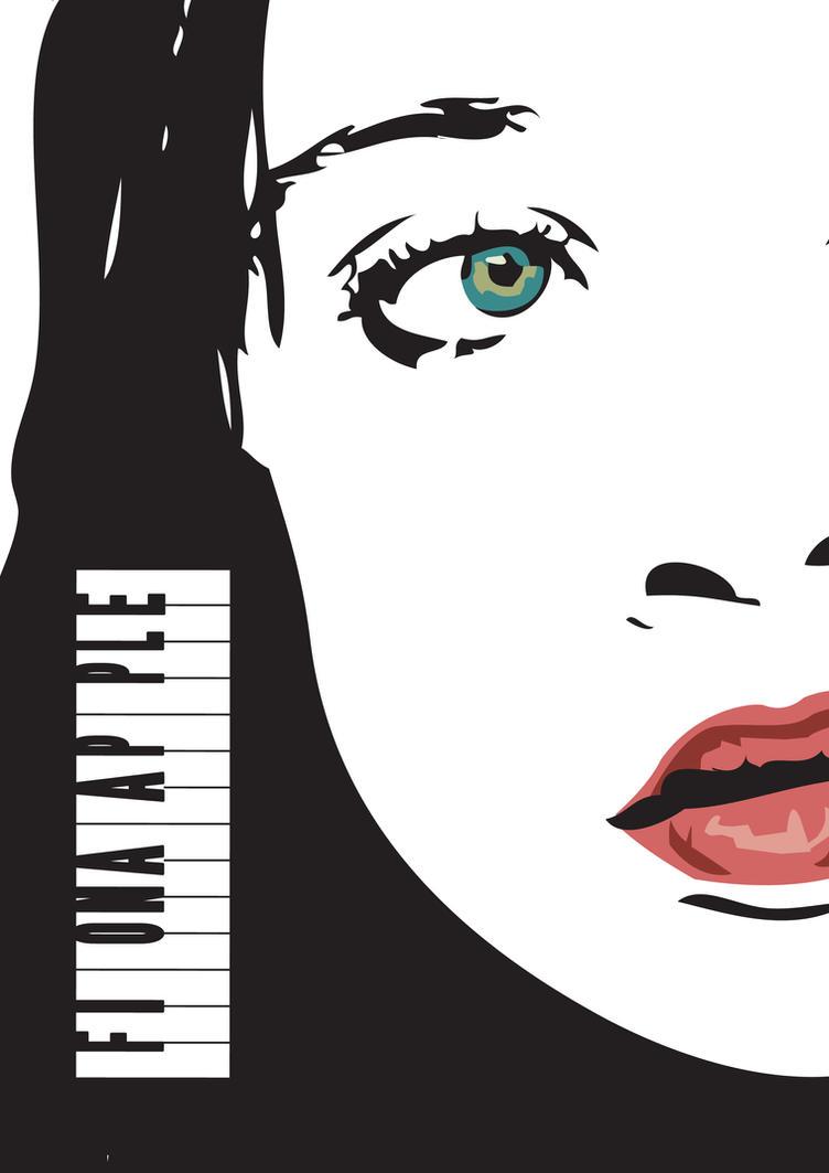 Fiona Apple's poster by Hikaru-Fer