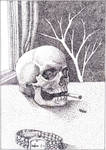 dot skull dot