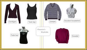 Character's Wardrobe 101